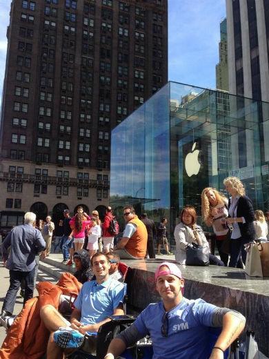apple store kuyruk