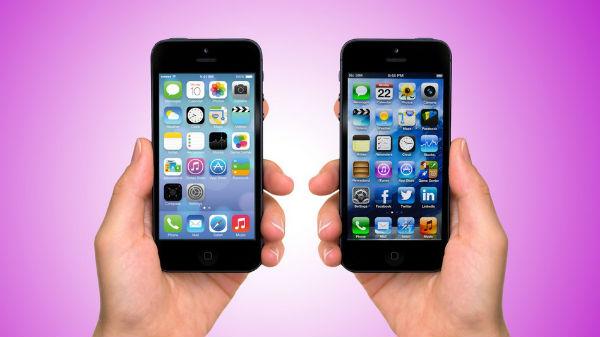 iOS 7 to iOS 6