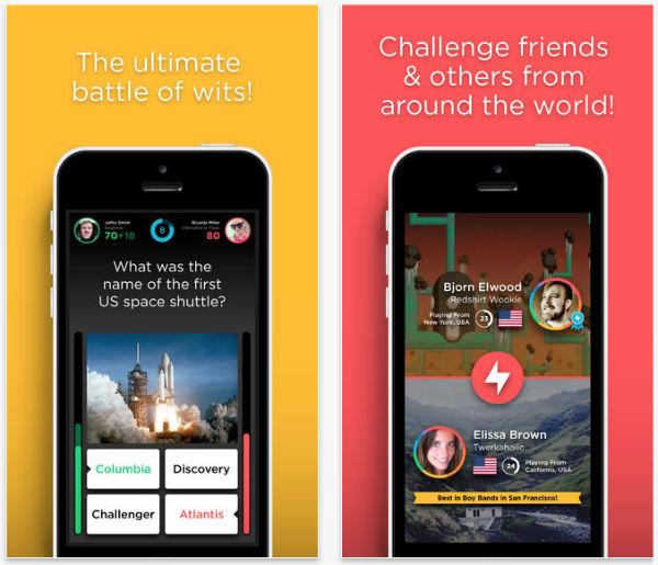 QuizUp iOS oyunu