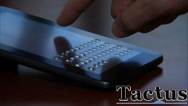 Tactus Technology klavye ekran filmi