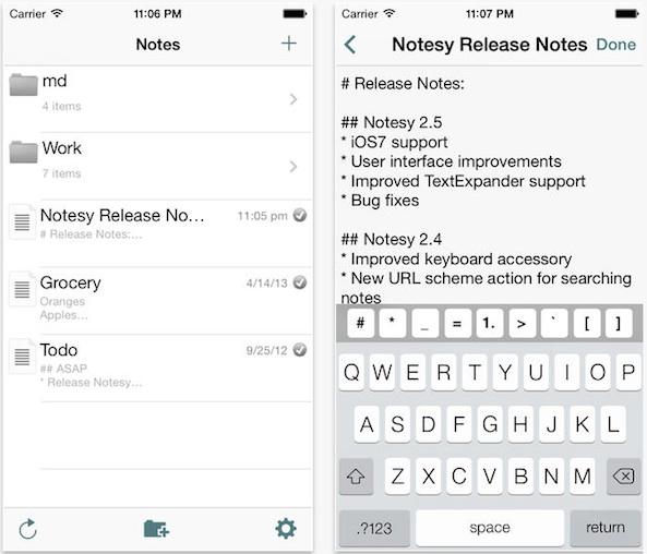 Notesy-for-Dropbox