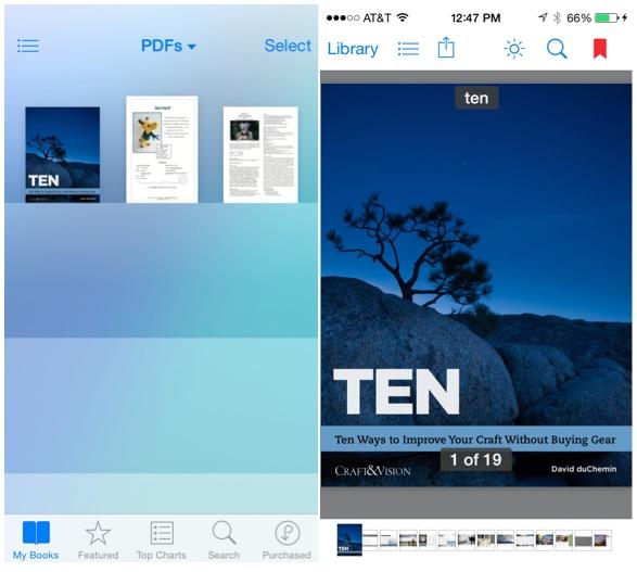 iBooks-PDF