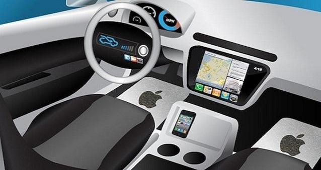apple otomobil