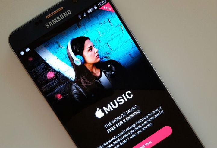 Apple Muzik Androidde