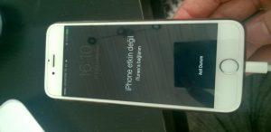 İphone Etkin Değil İtunes'e Bağlanın Hatası Ve Çözümü