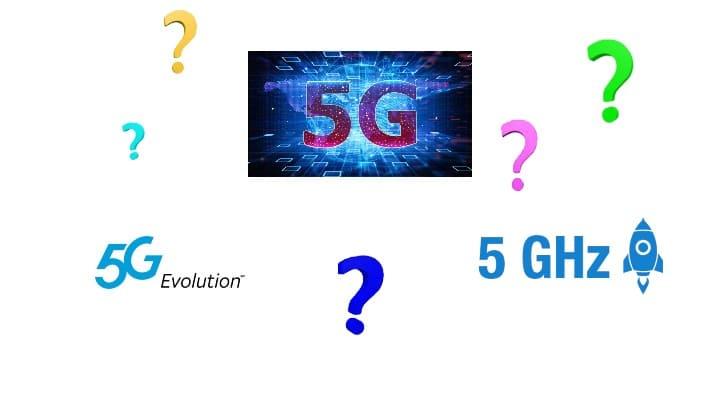5G, 5G E, 5 GHz farkları nedir