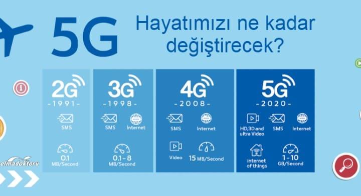 5G hayatımızı ne kadar değiştirecek