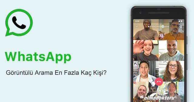Whatsapp görüntülü arama sınırı