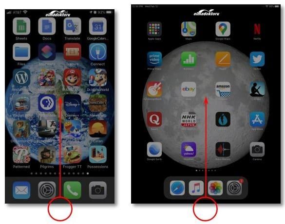 iphone ve ipad uygulama kapatma ekranı