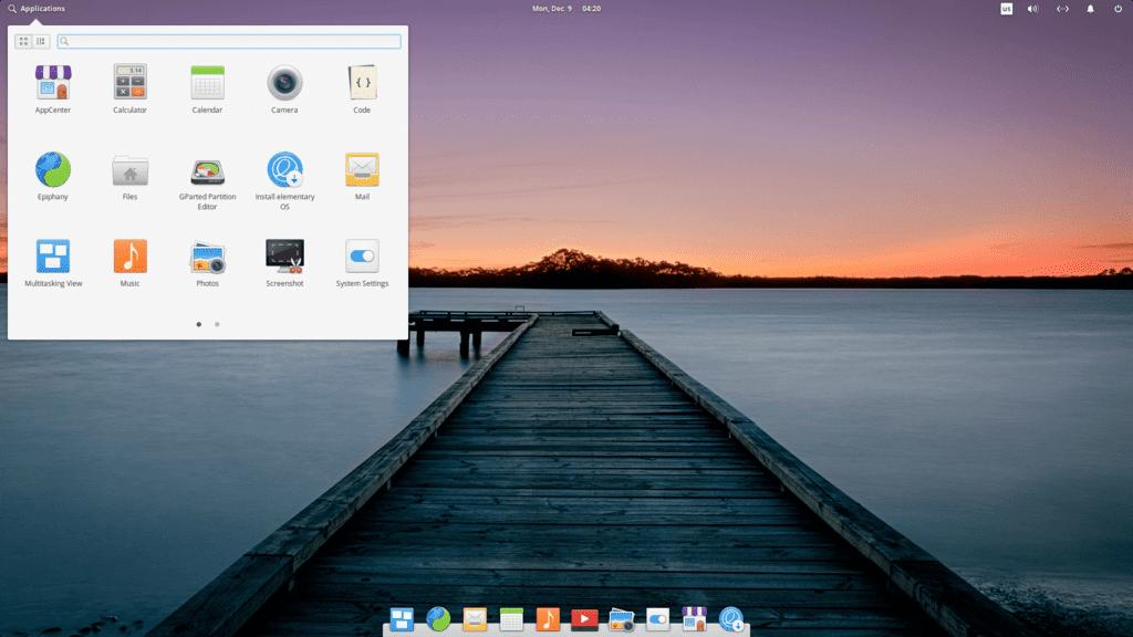 En İyi Linux Dağıtımları 2020 Elementary OS
