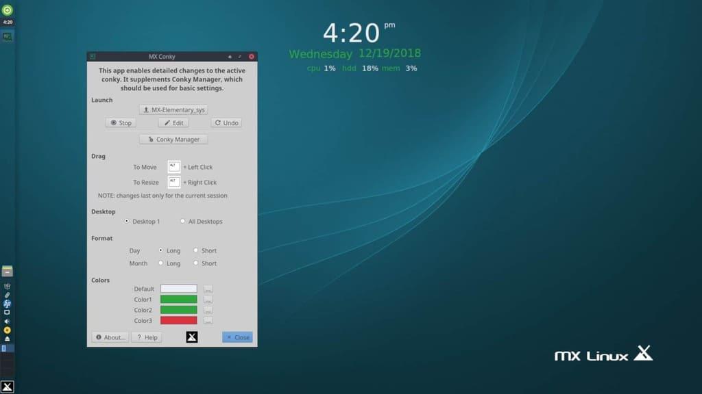 En İyi Linux Dağıtımları 2020 MX Linux
