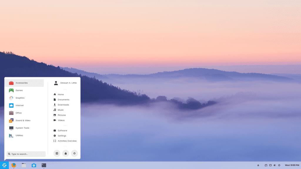 En İyi Linux Dağıtımları 2020 Zorin OS