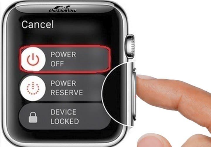 apple watch hard reset