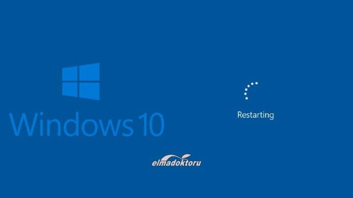 Windows 10'un Rastgele Yeniden Başlatma Sorunu