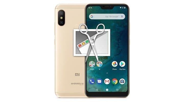 Xiaomi Mi A2 Lite Ekran Görüntüsü Almak